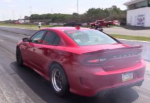 World's fastest Dodge Charger SRT Hellcat