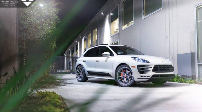 Porsche Macan Turbo Grins with New Vorsteiner Wheels!