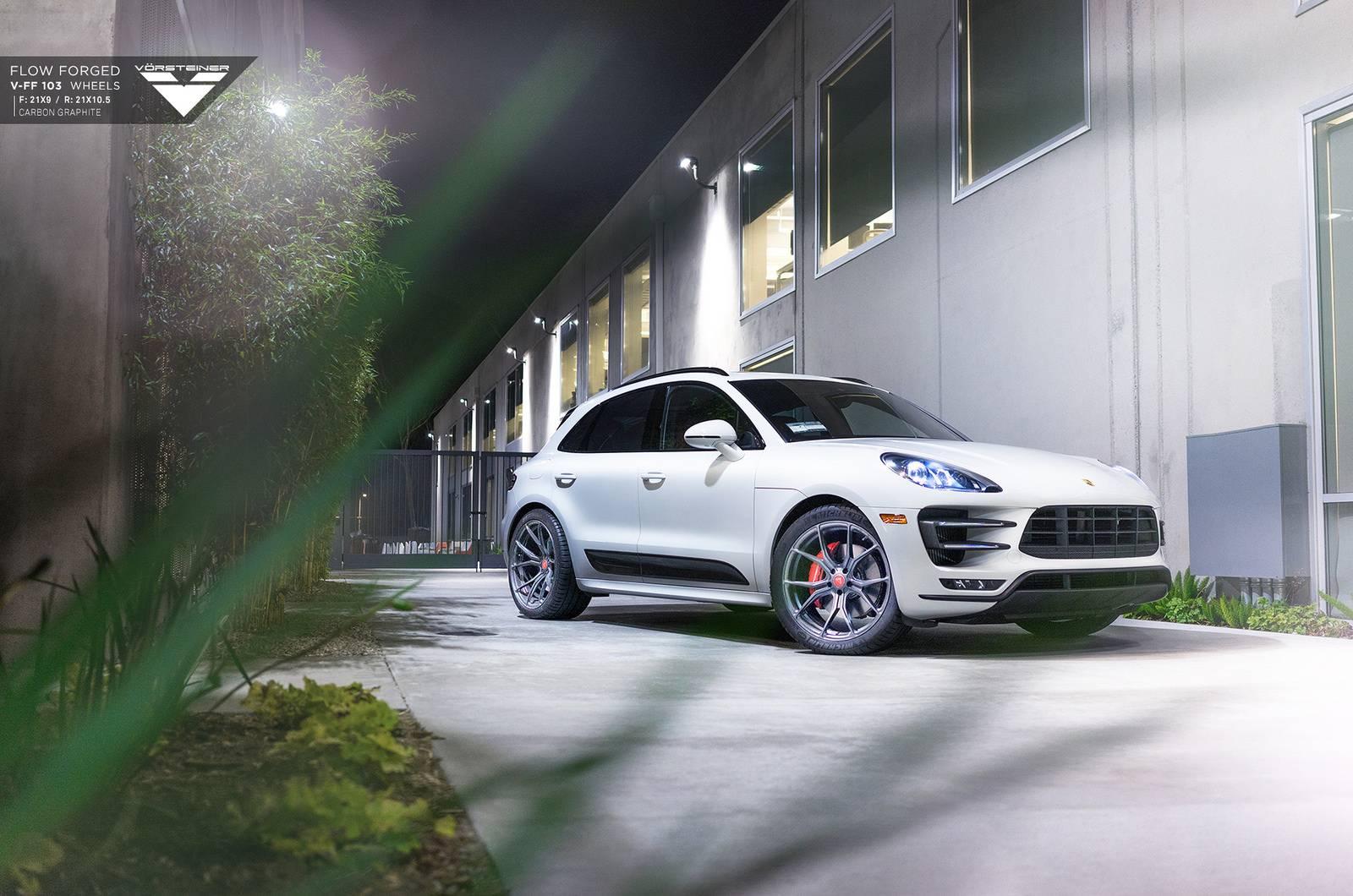 Porsche Macan Turbo Grins With New Vorsteiner Wheels Gtspirit