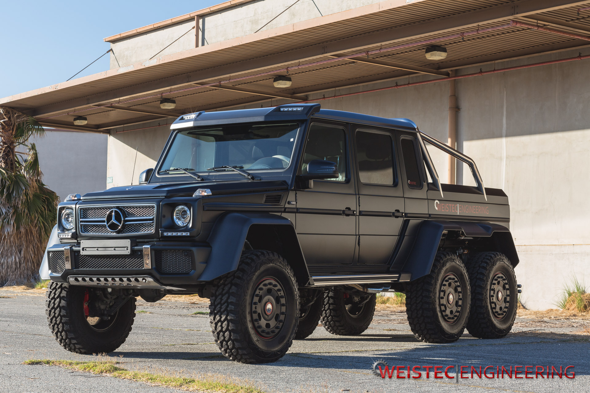 weistec engineering mercedes benz g63 amg 6x6 in detail