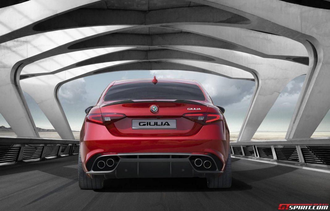 Alfa Romeo Giulia clip reveals new logo