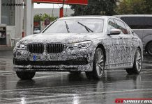 Next-gen Alpina B7 spy shot front