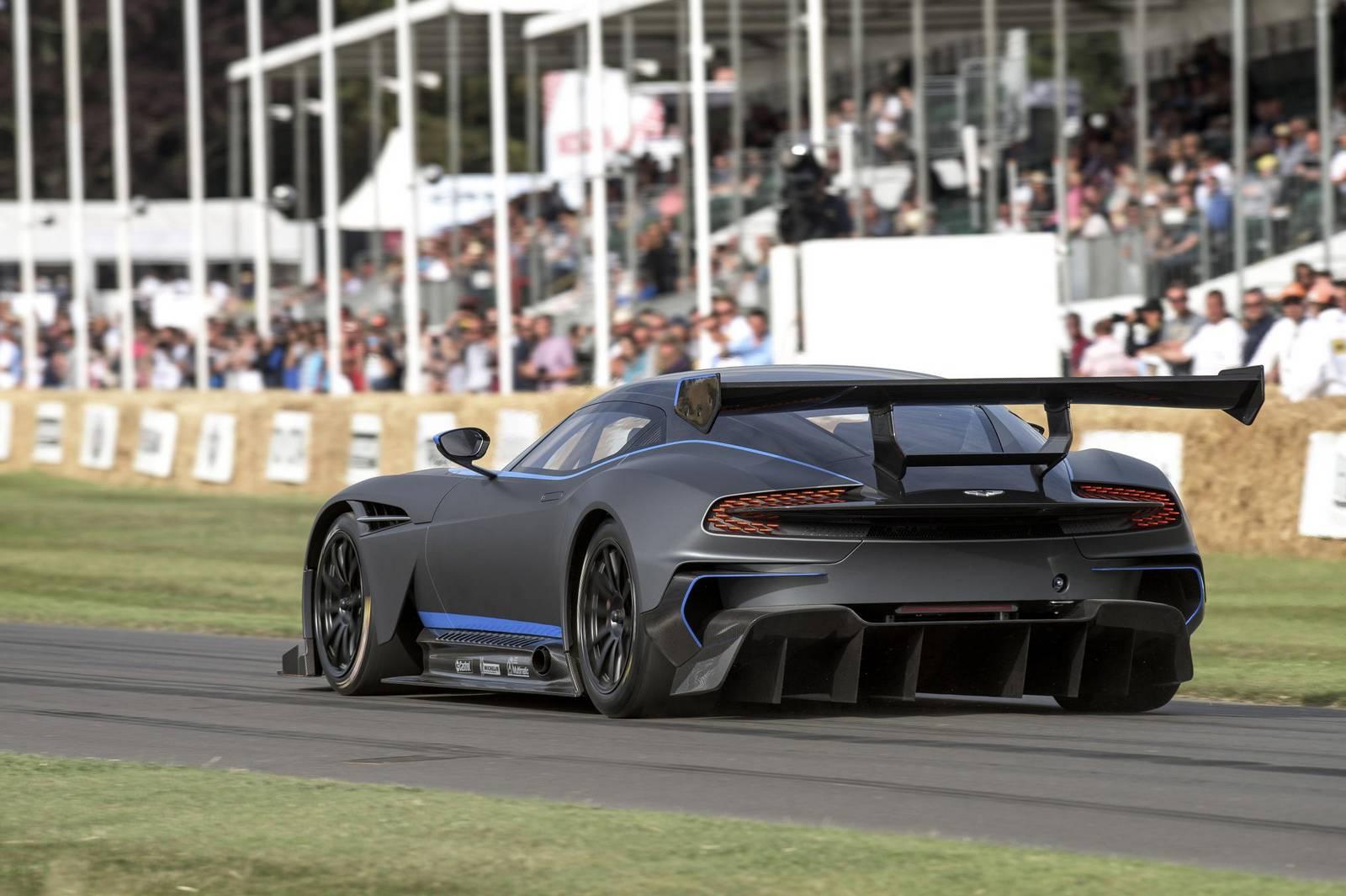 Aston Martin Rules Out Road Legal Vulcan Hypercar Gtspirit