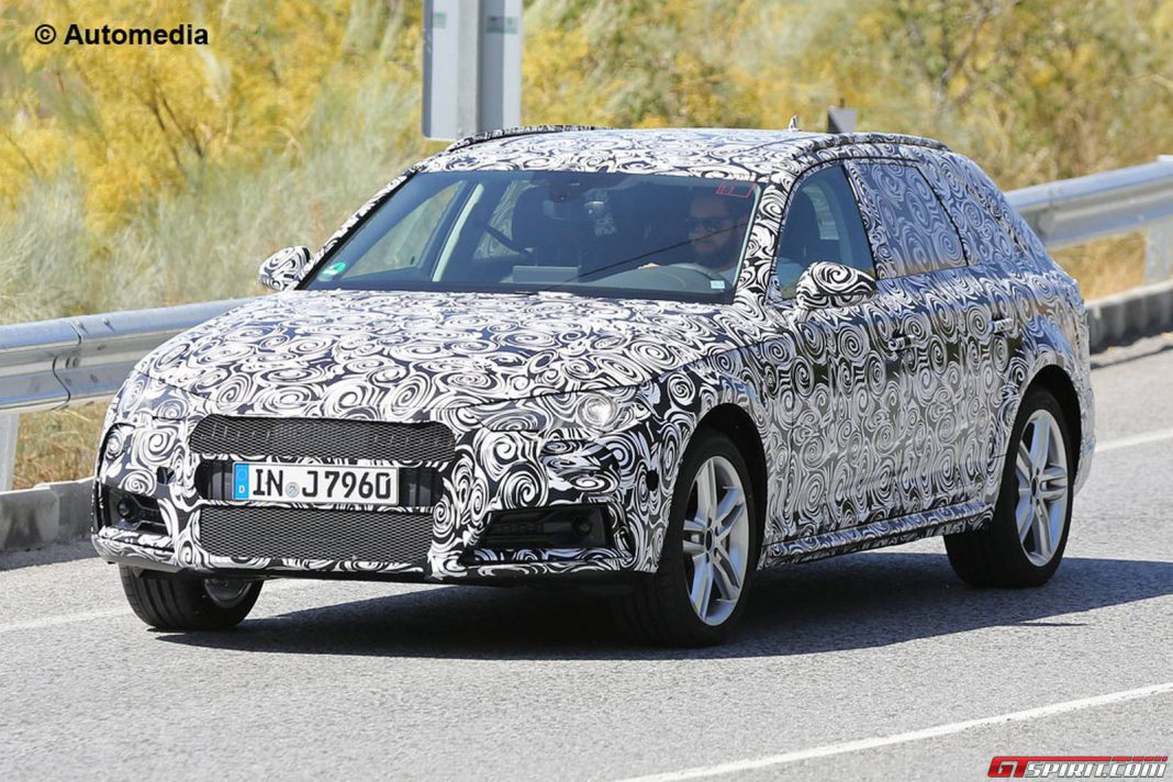 First Spy Shots of 2016 Audi A4 Allroad Emerge