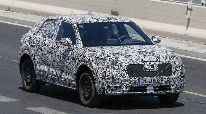 2016 Audi Q1 Spy Shots From First Round of Testing front