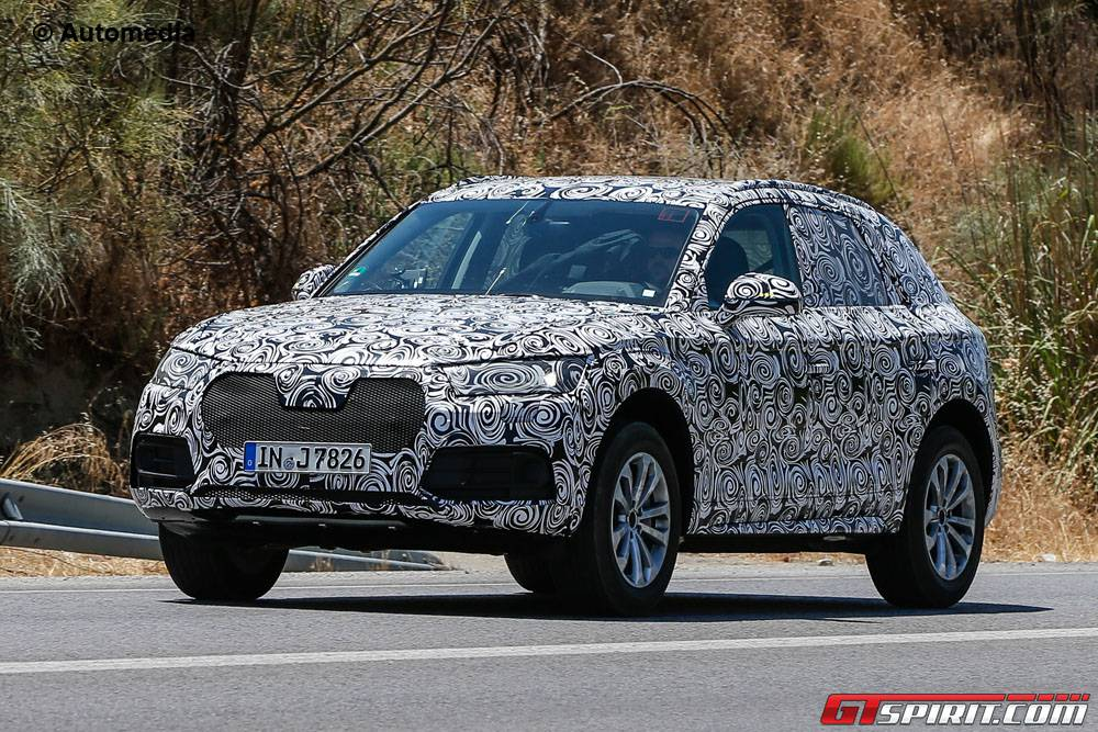 Next-Generation Audi Q5 Spy Shots front
