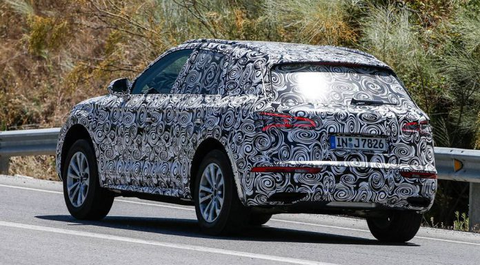 Next-Generation Audi Q5 Spy Shots rear