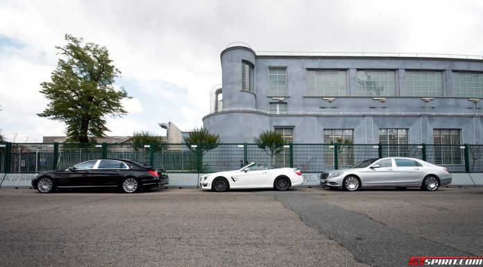 Mercedes-Maybach S600 and SL63 AMG