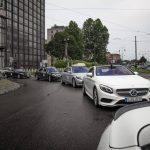 Mercedes-Benz lineup Parco Valentino 2015