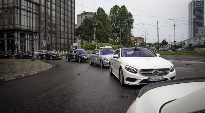 Mercedes-Benz lineup Parco Valentino 2015