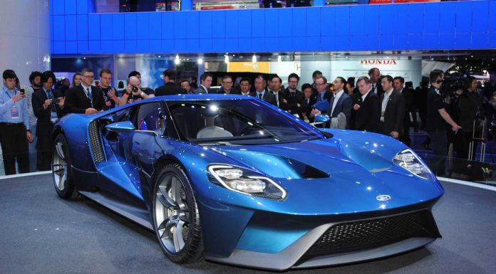 2016 Ford GT to be sold in the UK