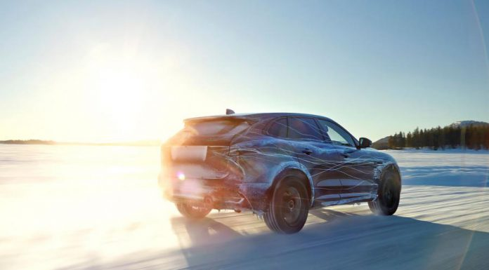 Jaguar F-Pace testing rear