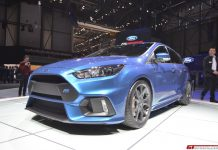 Ford Focus RS produces 350 hp and 350 lb-ft