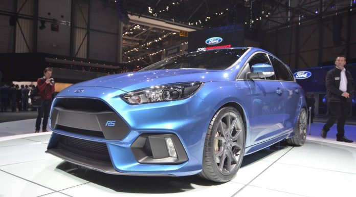 Ford Focus RS priced at $35,730