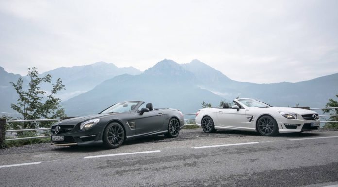 Mercedes SL 63 AMG Duo