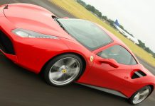 Jeremy Clarkson Completes Final Top Gear Track Lap in Ferrari 488 GTB