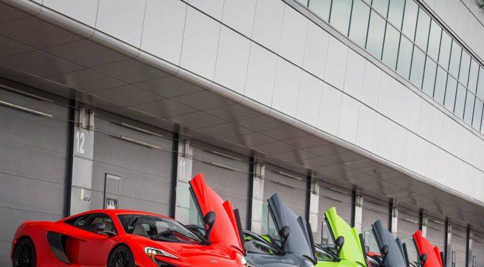McLaren 675LT lineup