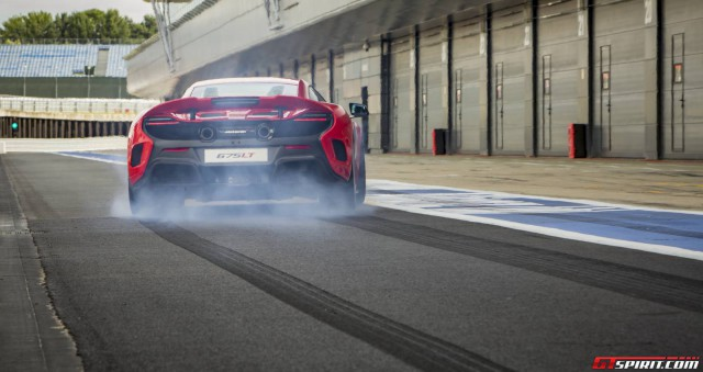 McLaren 675LT Launch Control