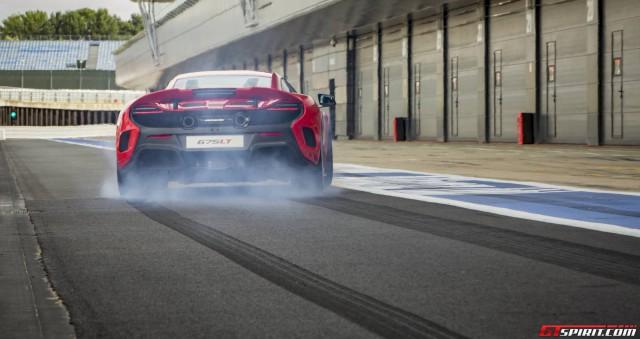 McLaren 675LT Launch Control