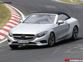 Mercedes-Benz S-Class Cabriolet Nurburgring front