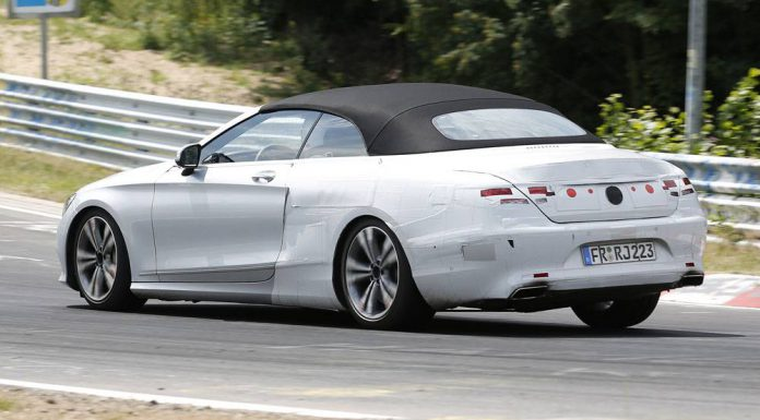 Mercedes-Benz S-Class Cabriolet Nurburgring rear