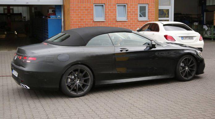 Mercedes-AMG S63 Cabriolet rear
