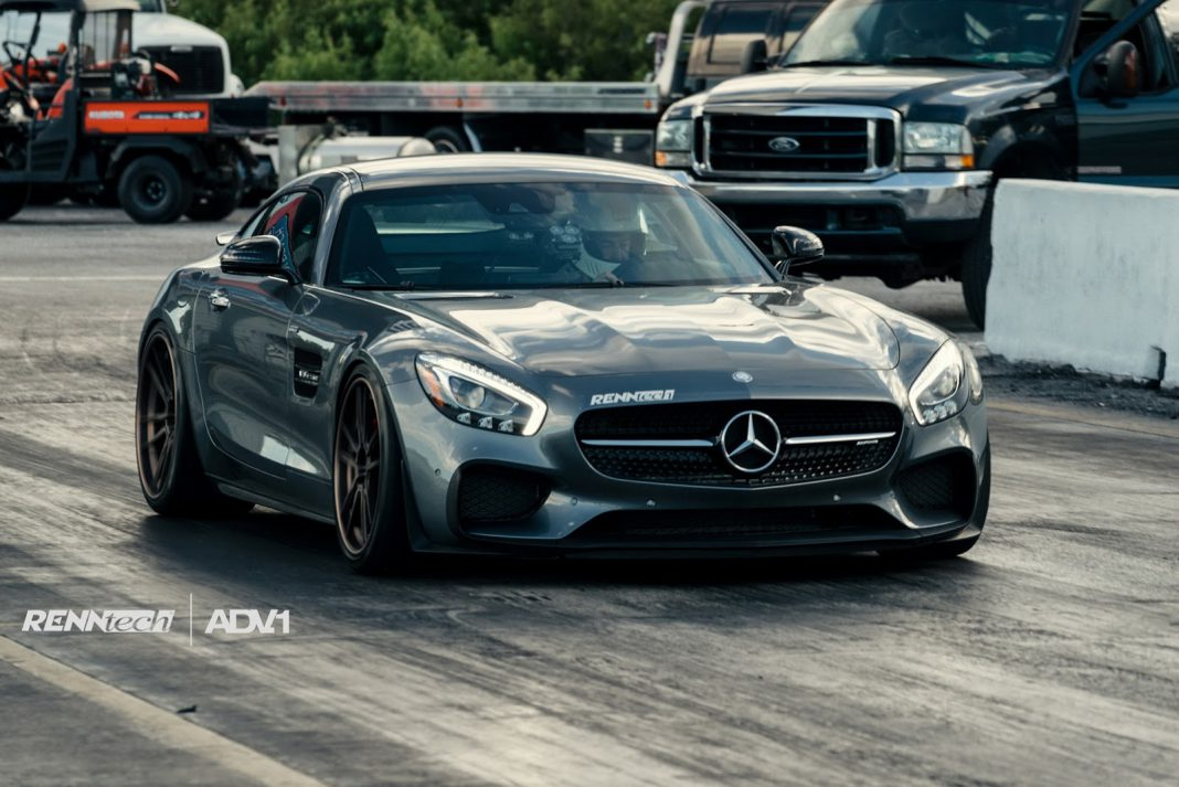 Renntech Mercedes-AMG GT S on ADV.1 Wheels