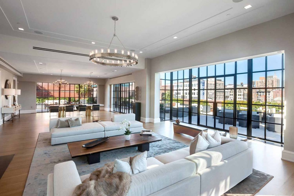 Stunning 66 million penthouse for sale in new york city for Apts for sale in manhattan ny