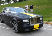 Antonio Brown Rolls-Royce Phantom