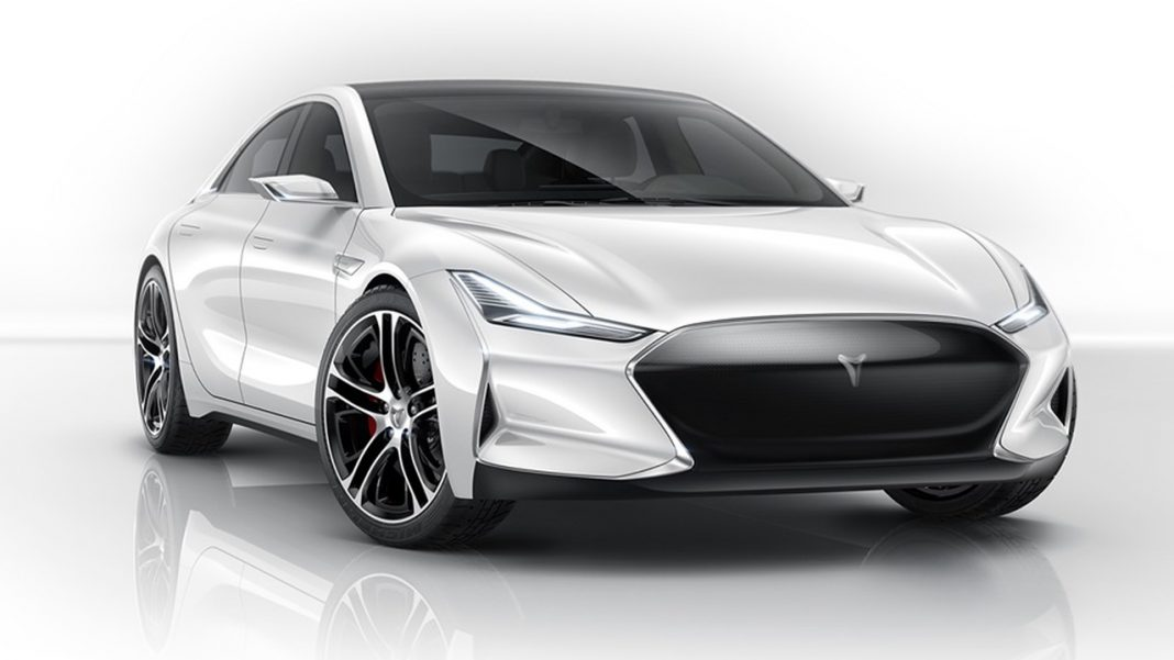 Youxia X, Tesla Model S rival front