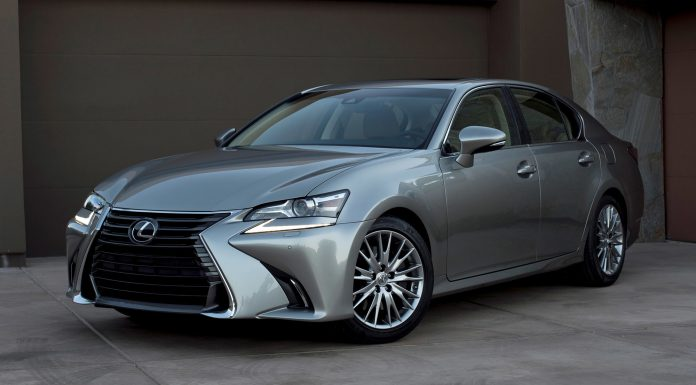 Updated 2016 Lexus GS