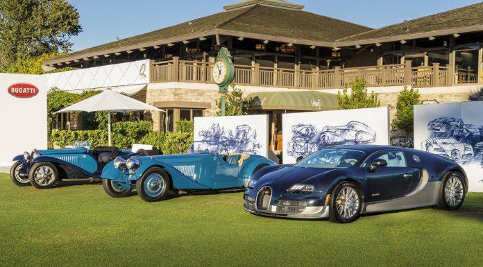 All Time Bugatti Super Sport Models Star at Monterey Car Week 2015