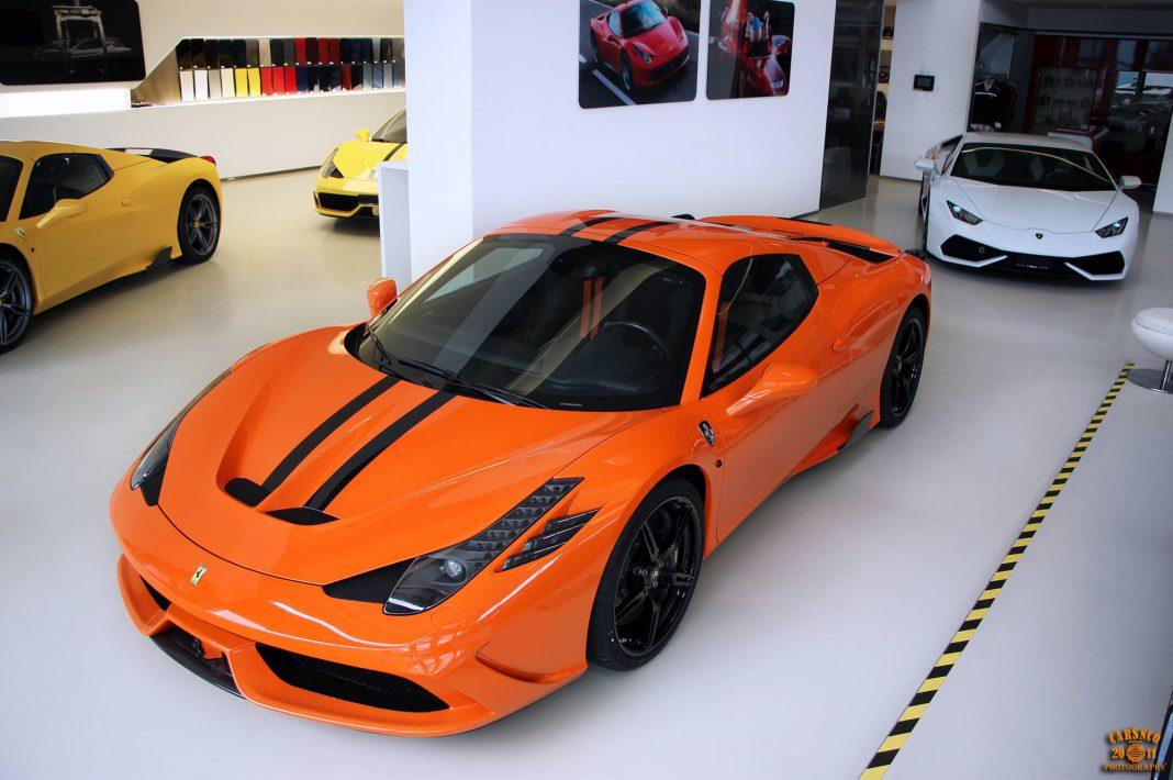 Meet James May's Ferrari 458 Speciale A