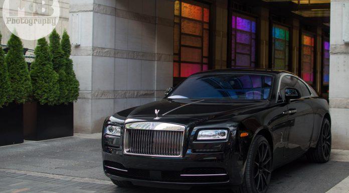 Drake Rolls-Royce Wraith
