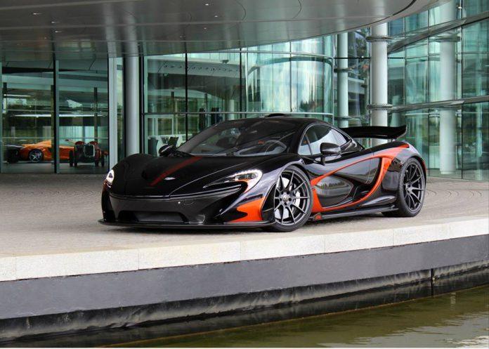 Deep Purple McLaren P1 by MSO