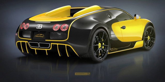 Oakley Design Bugatti Veyron rear