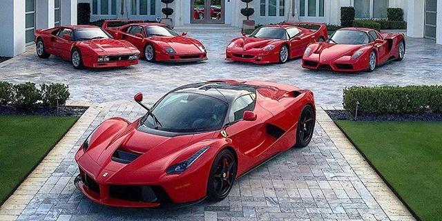Ferrari 288 GTO, F40, F50, Enzo, LaFerrari