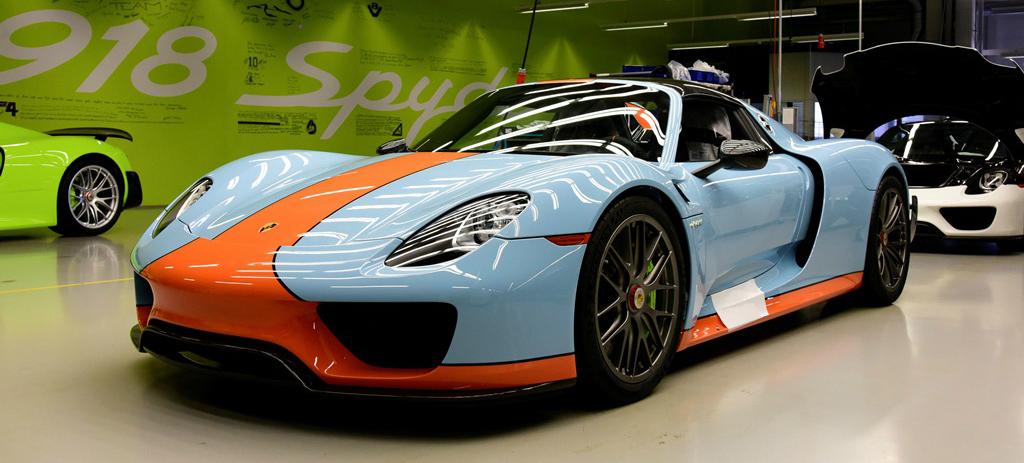 Gulf Porsche 918 Spyder