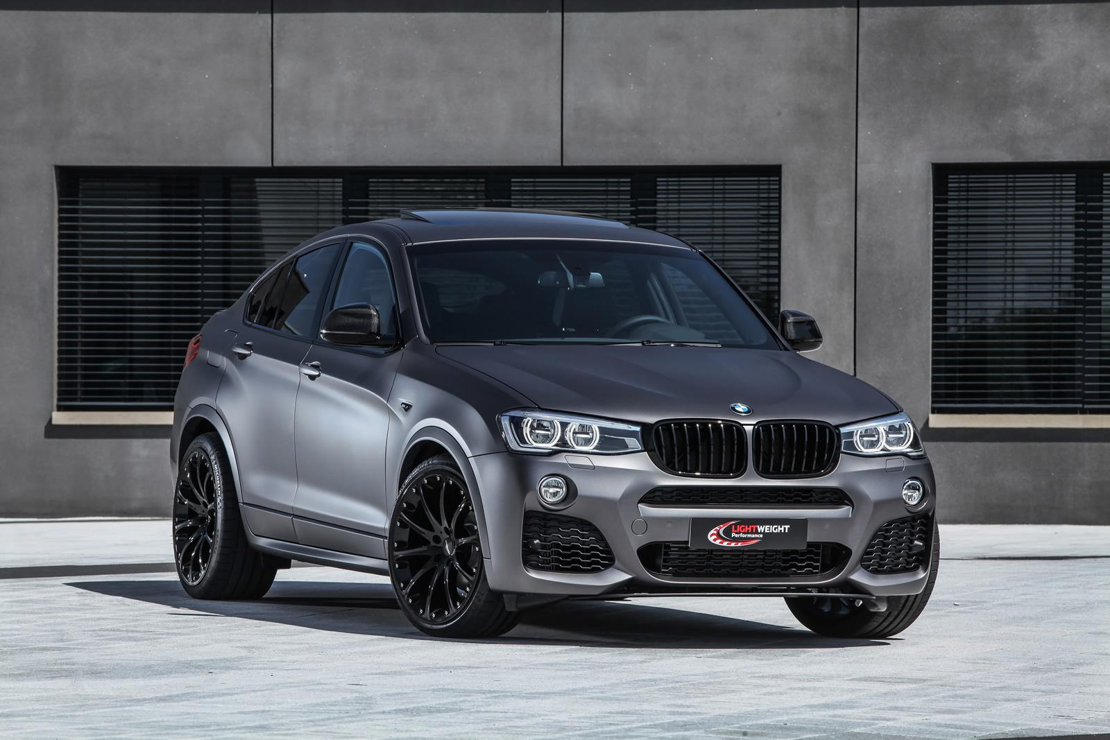 Tuning Firm 'Lightweight' Reveals Upgraded BMW X4 - GTspirit