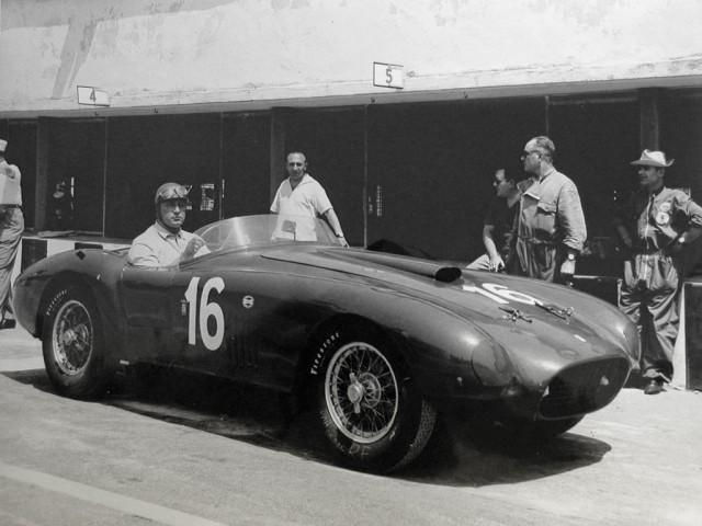 1950 Ferrari 275S340 America Barchetta by Scaglietti