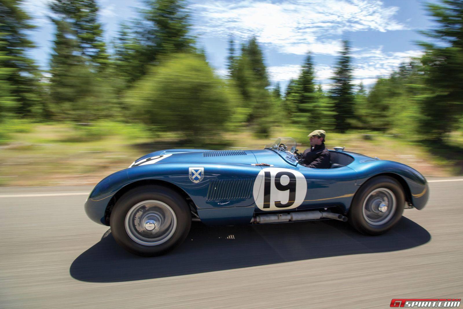 Jaguar jaguar c : Jaguar C-Type Works Lightweight Sells for $13.2 Million - GTspirit