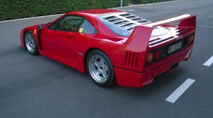 Ferrari F40 auctions for $1.2 million