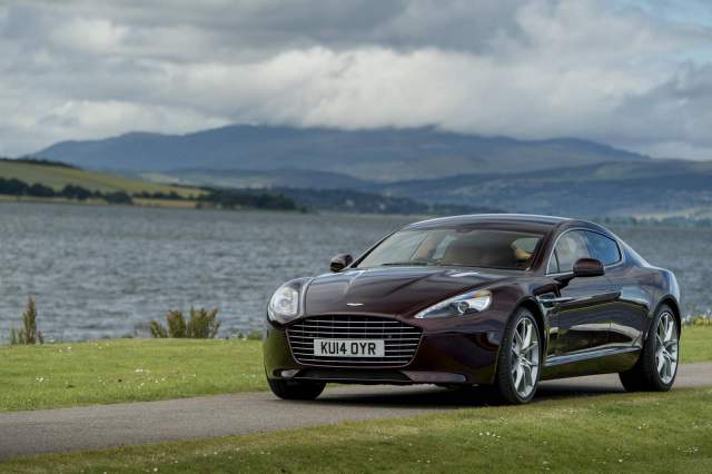 Electric Aston Martin coming in two years