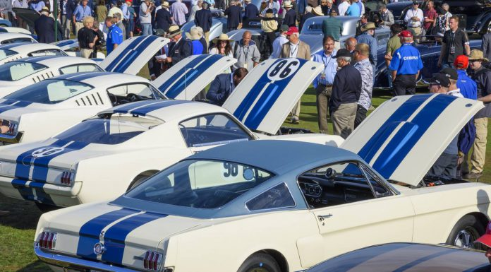 Mustangs at 2015 Pebble Beach Concours d'Elegance