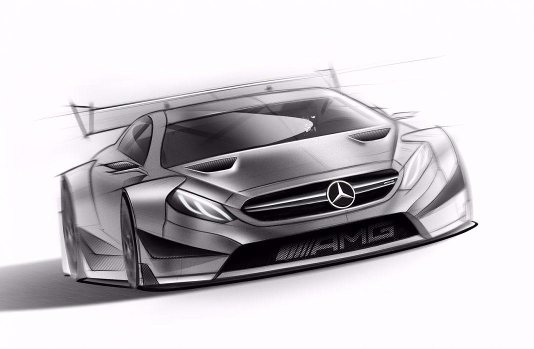 2016 Mercedes-AMG DTM Racecar