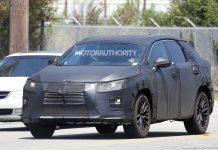 Seven-seat Lexus RX spied