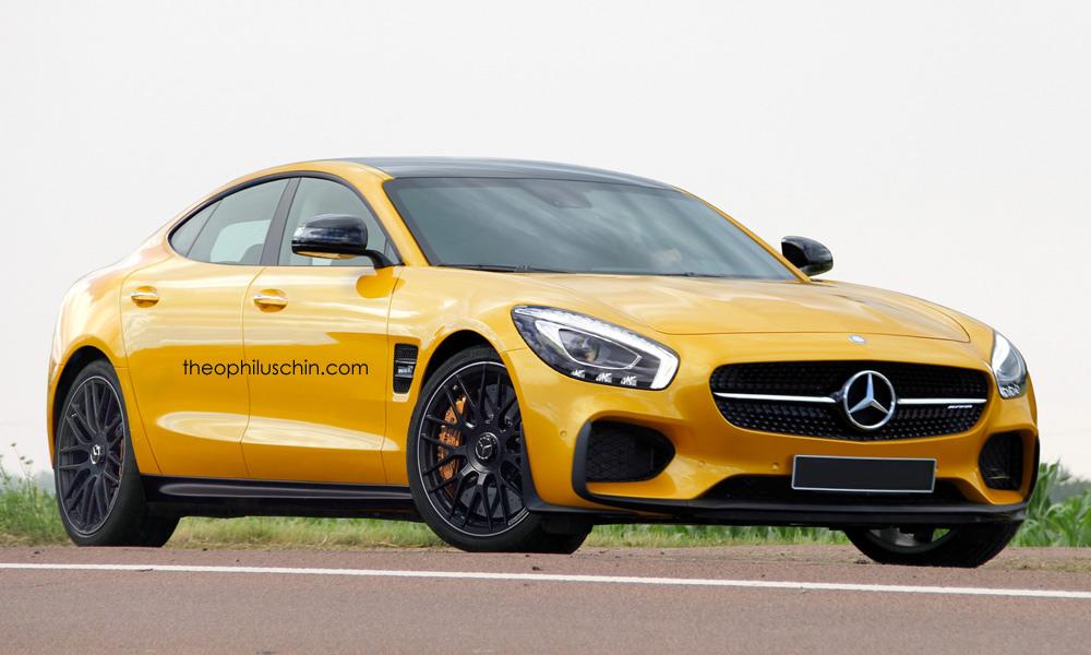 Mercedes-AMG four door front