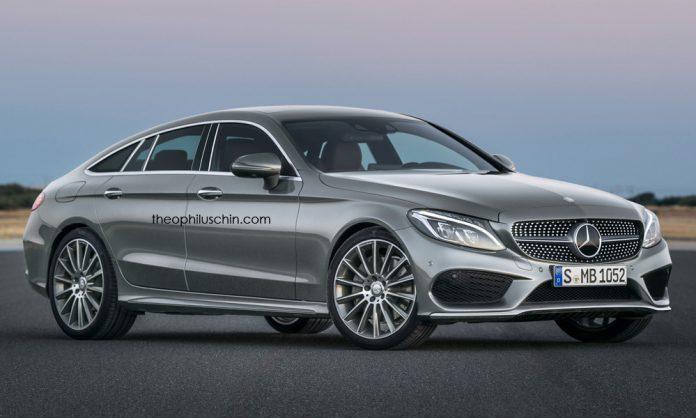 Mercedes-Benz C-Class Coupe four doorfront