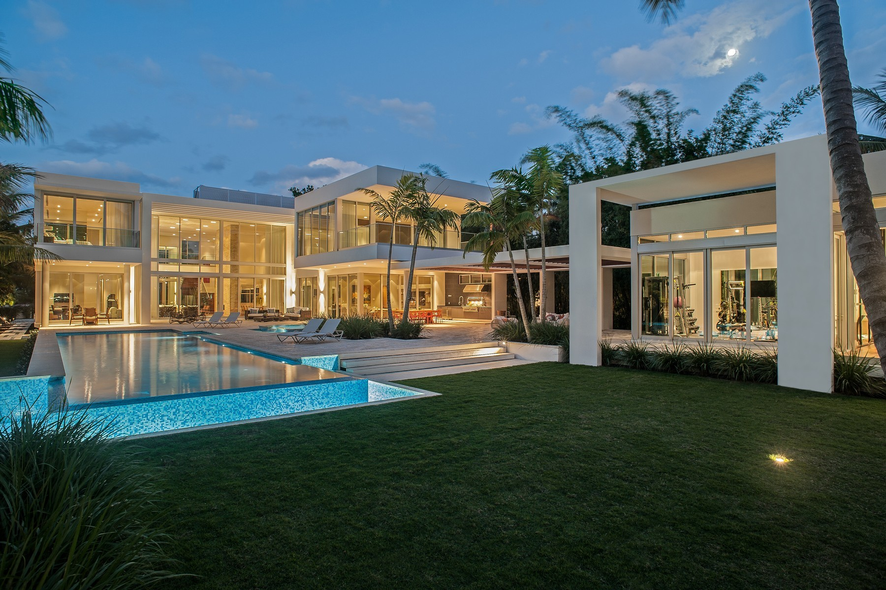 Breathtaking 8 bedroom 32 million miami mansion for sale for Florida estates for sale