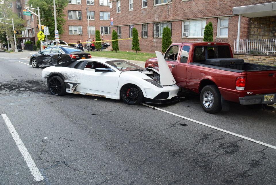 Fake Lamborghini Causes Crash in Jersey